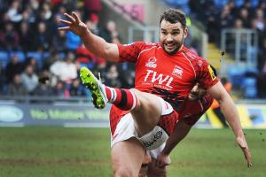 LONDON WELSH: Olly Barkley to have role in attack plans