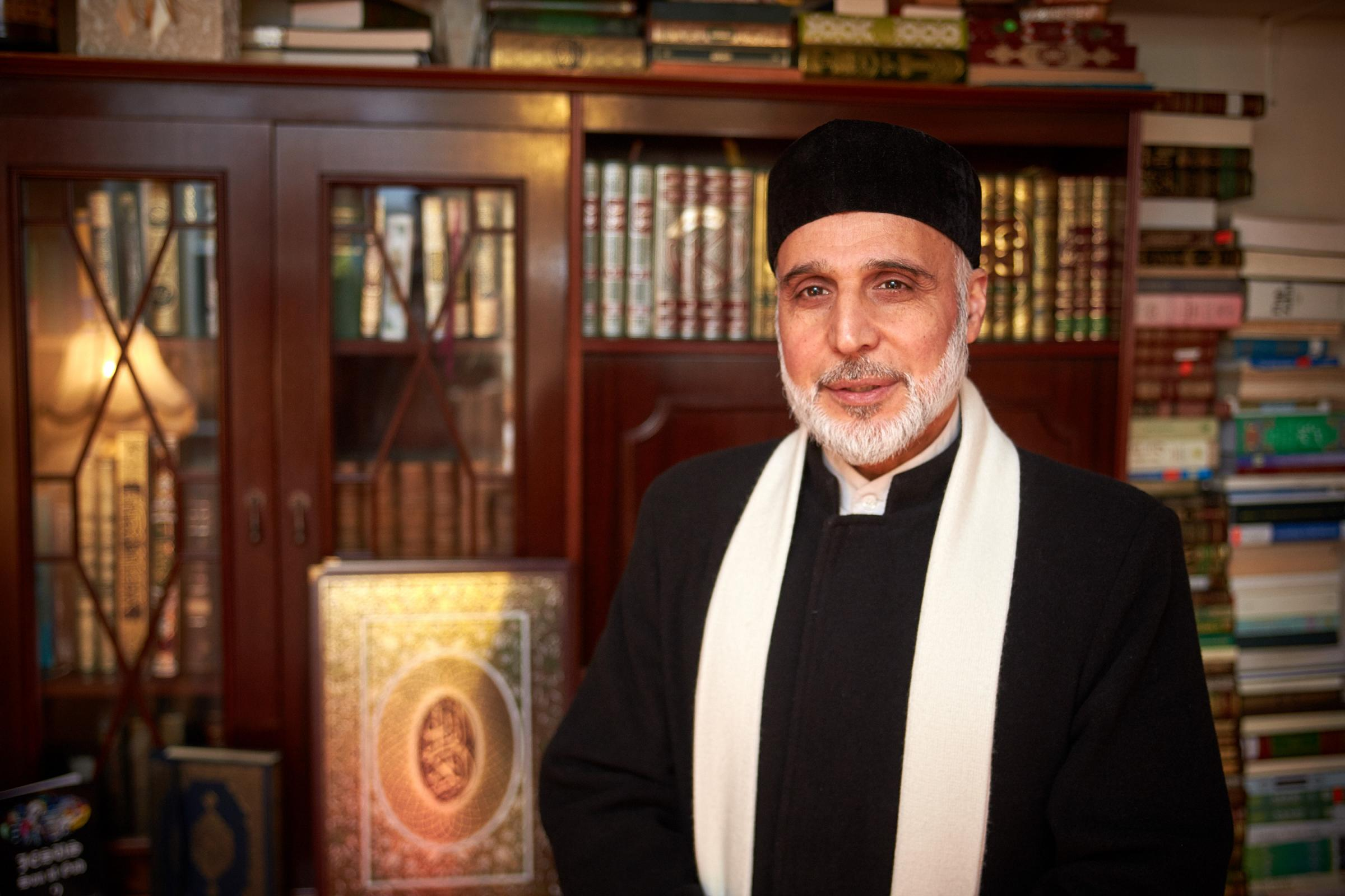 Dr Hojjat Ramzy, Imam and director of the Oxford Islamic Information Centre