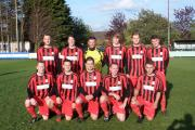 Berinsfield who won the North Berks Cup final against Saxton Rovers