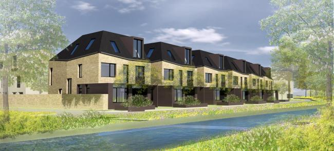 What the first-phase Barton Park town houses could look like