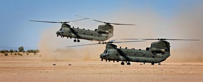 Coming: Two RAF Chinook Mk2s