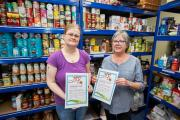 Initiative: Jo Cypher, left, and Ruth Mason want to take the West Oxfordshire Foodbank out on the road