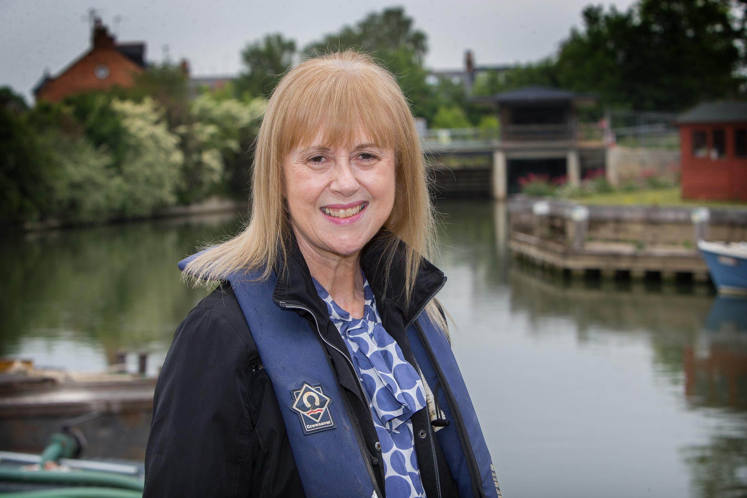 Humbled: Julia Simpson, the Environment Agency's West Thames area manager, has been awarded an MBE