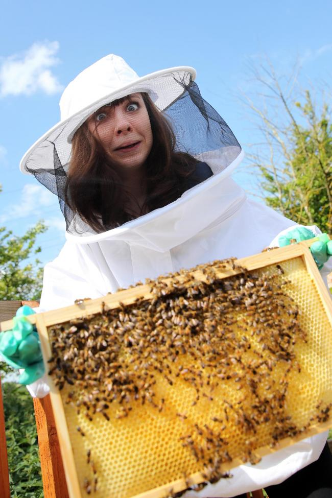 Buzz: Hannah Somerville learns beekeeping