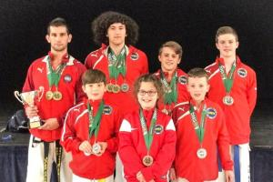 MARTIAL ARTS: Carl Davis leads Vale TKD to third place