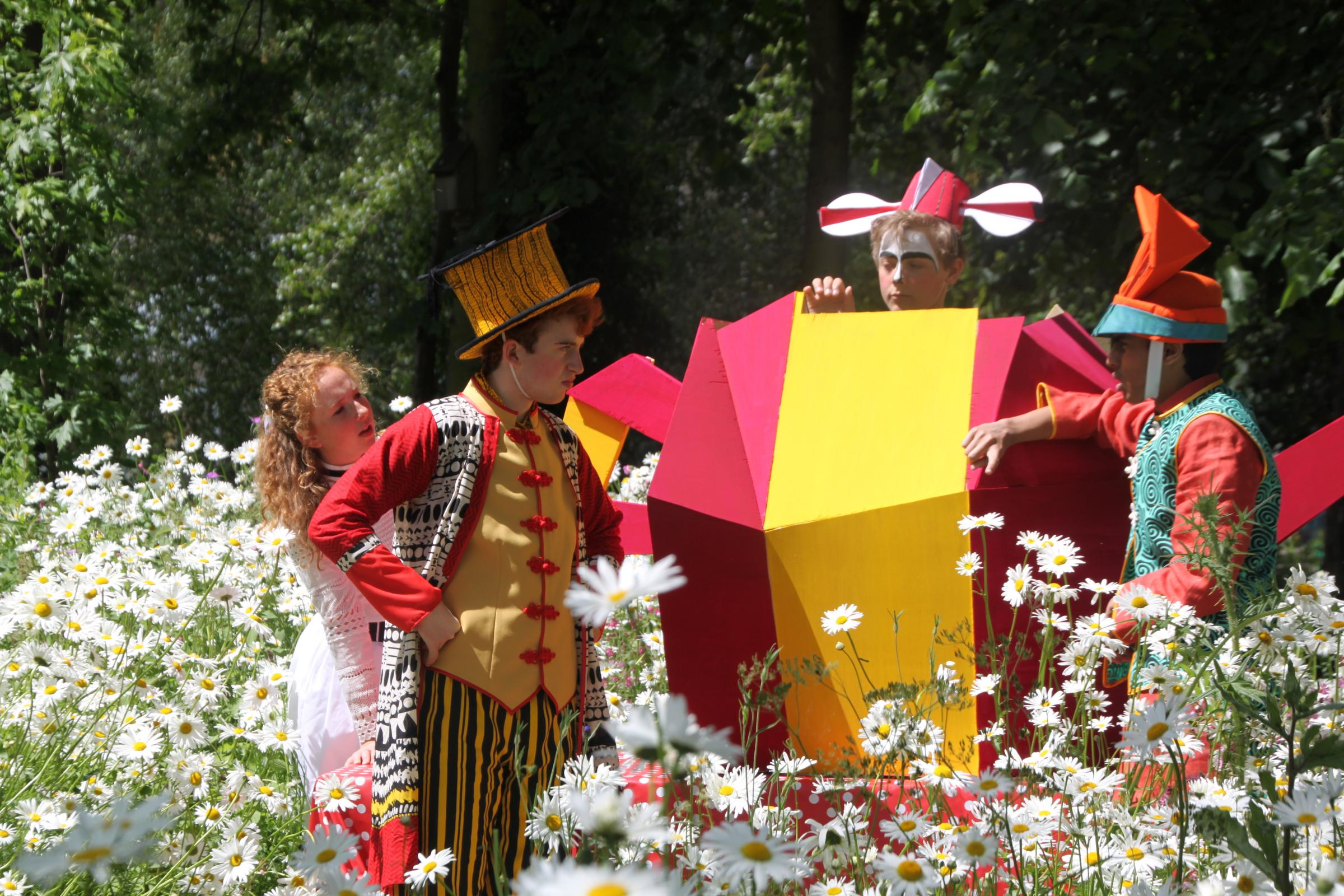 Alice in Wonderland is arts festival centrepiece