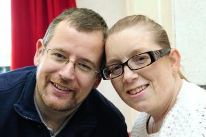 Widower pledges support to hospice in his wife's memory
