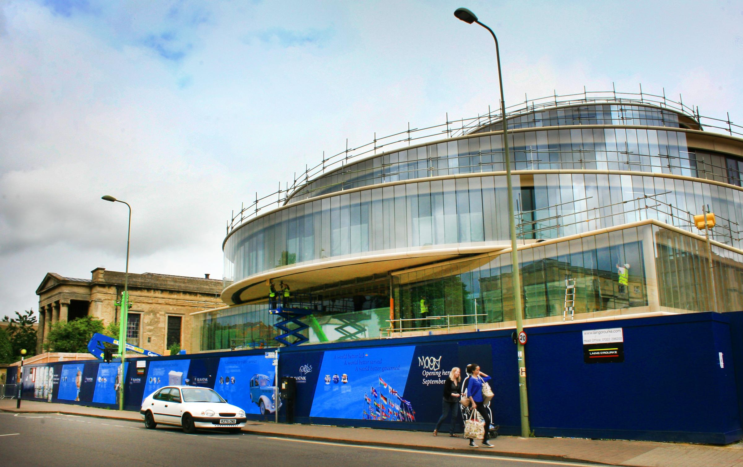Taking shape: The Blavatnik School of Government