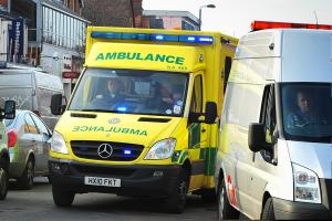 UPDATE: Man fighting for life after crash with 999 ambulance