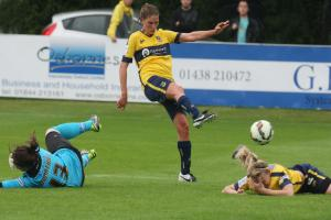 Oxford United Women waste chance to tame Lionesses