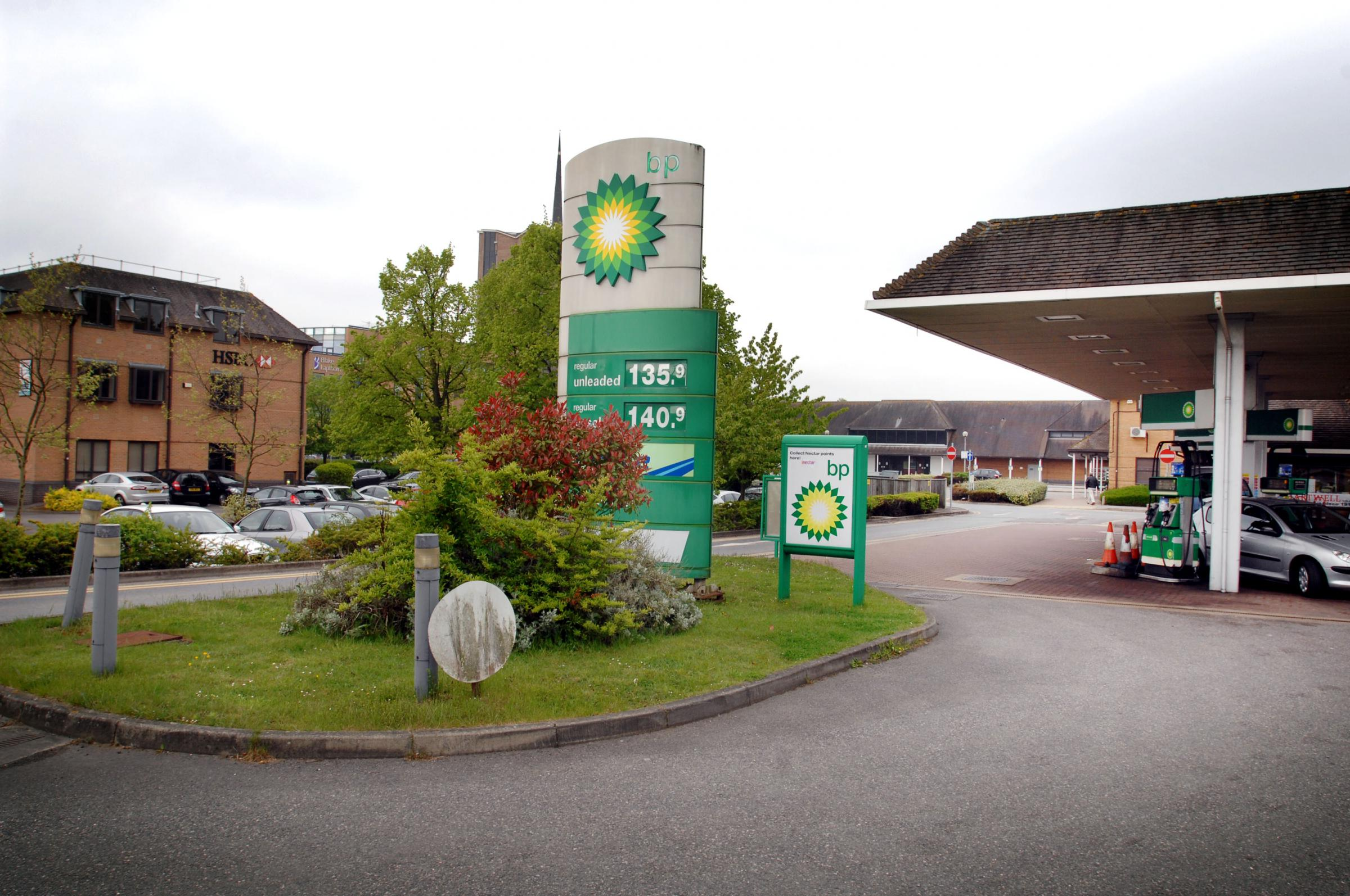 Going: The BP garage at Seacourt Tower