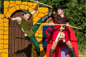 Eternal hero Robin Hood takes a bow at Blenheim Palace
