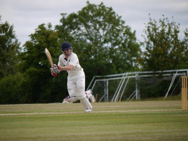 Oxfordshire Under 17s captain George Reid hit a brilliant 165 to set up the win