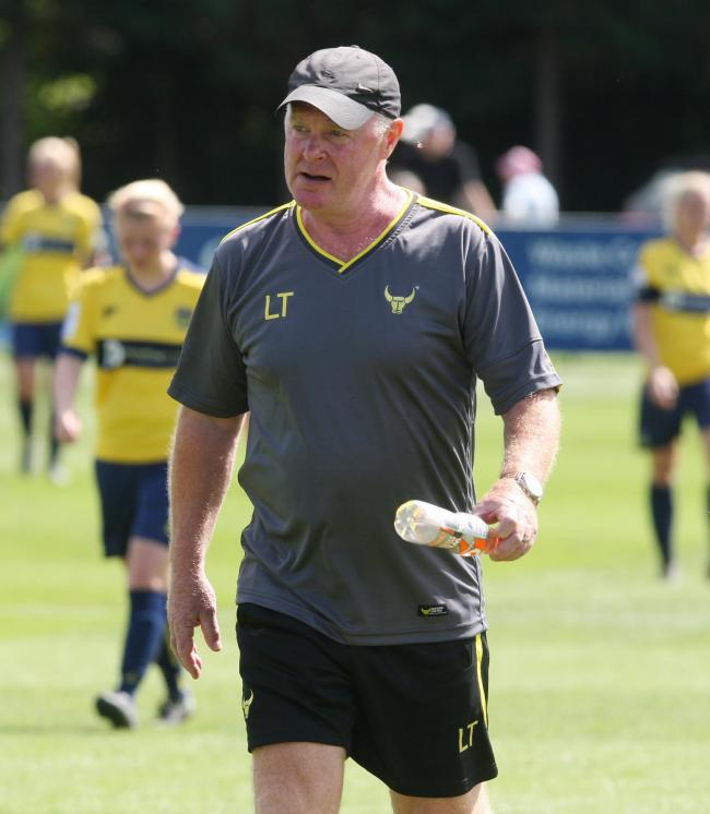 Oxford United Women's boss Les Taylor
