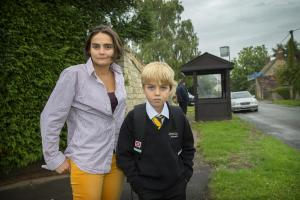 Anger erupts at treatment over boy's bus trip to school