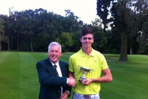 GOLF: Harry Richardson is class act in Frilford Heath's Challenor Rose Bowl
