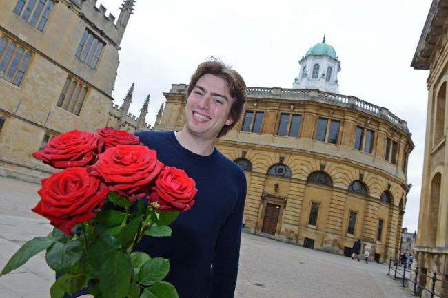 Looking for love: Louis Gill, from Oxford, who is appearing on First Dates on Channel 4 tonight