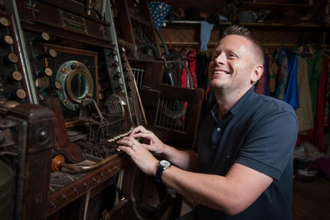 Stories to tell: Double Carnegie Medal winner Patrick Ness at the Story Museum