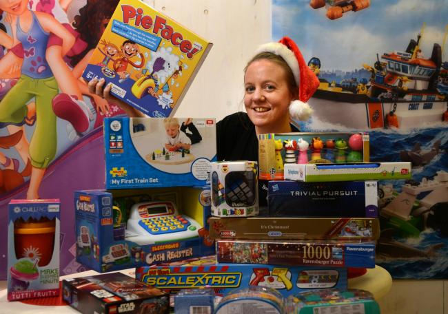 caa2acc11e6e Must-haves: Rosie Marshall, manager of Boswells toy department, with the  store's