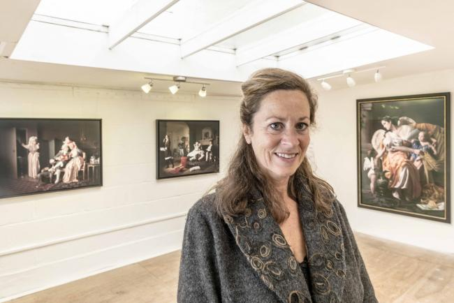 Jenny Blyth left her post as curator of The Saatchi Gallery to set up her own Oxford art gallery in Jericho