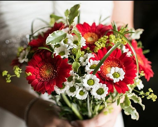 Bridal bouquet for beginners
