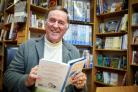 Sir Terry Wogan at The Bookstore in Abingdon, where he twice met Mark Fysh