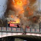 Oxford Mail: Londoners aren't too happy about the bus explosion staged for a Jackie Chan film
