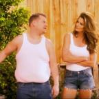 Oxford Mail: Video: Cindy Crawford and James Corden have hilariously remade a famous advert