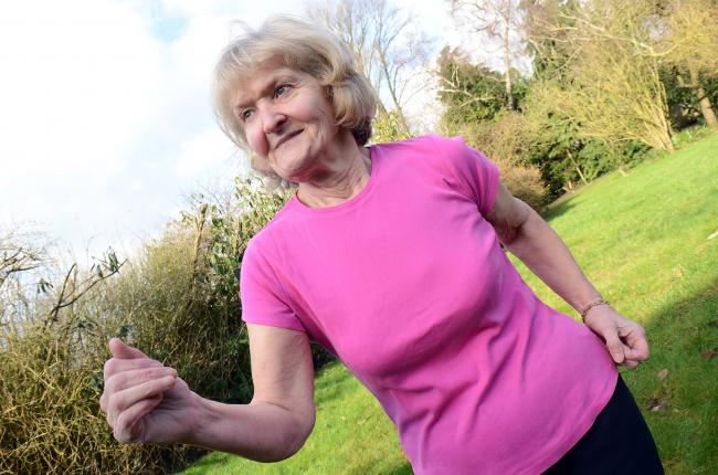 Eileen Williams, 71, will run the five-mile OX5 race at Blenheim Palace for the third time this year