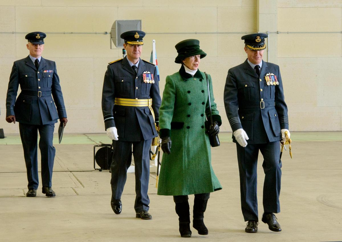 Airmen celebrate 100 years of Number 47 Squadron at RAF