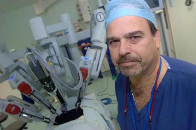 TRIALS: Prof Freddie Hamdy, the Nuffield Professor of Surgery, is involved in a new treatment being offered to prostate cancer patients at the Churchill Hospital