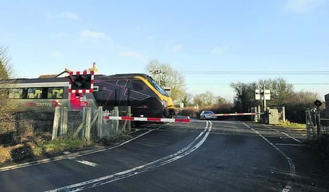 Sandy Lane level crossing is not working