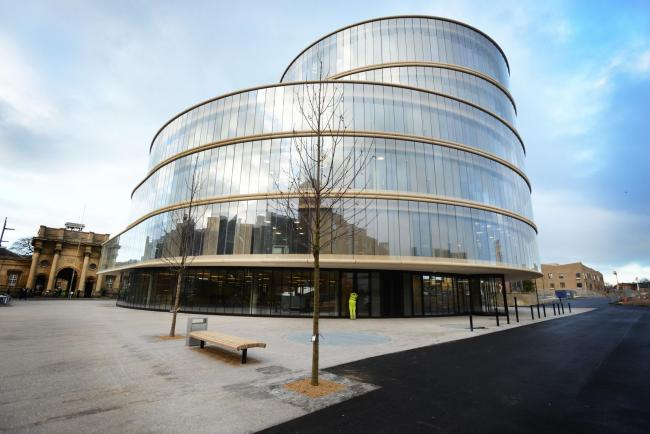 The Blavatnik School of Government in Jericho
