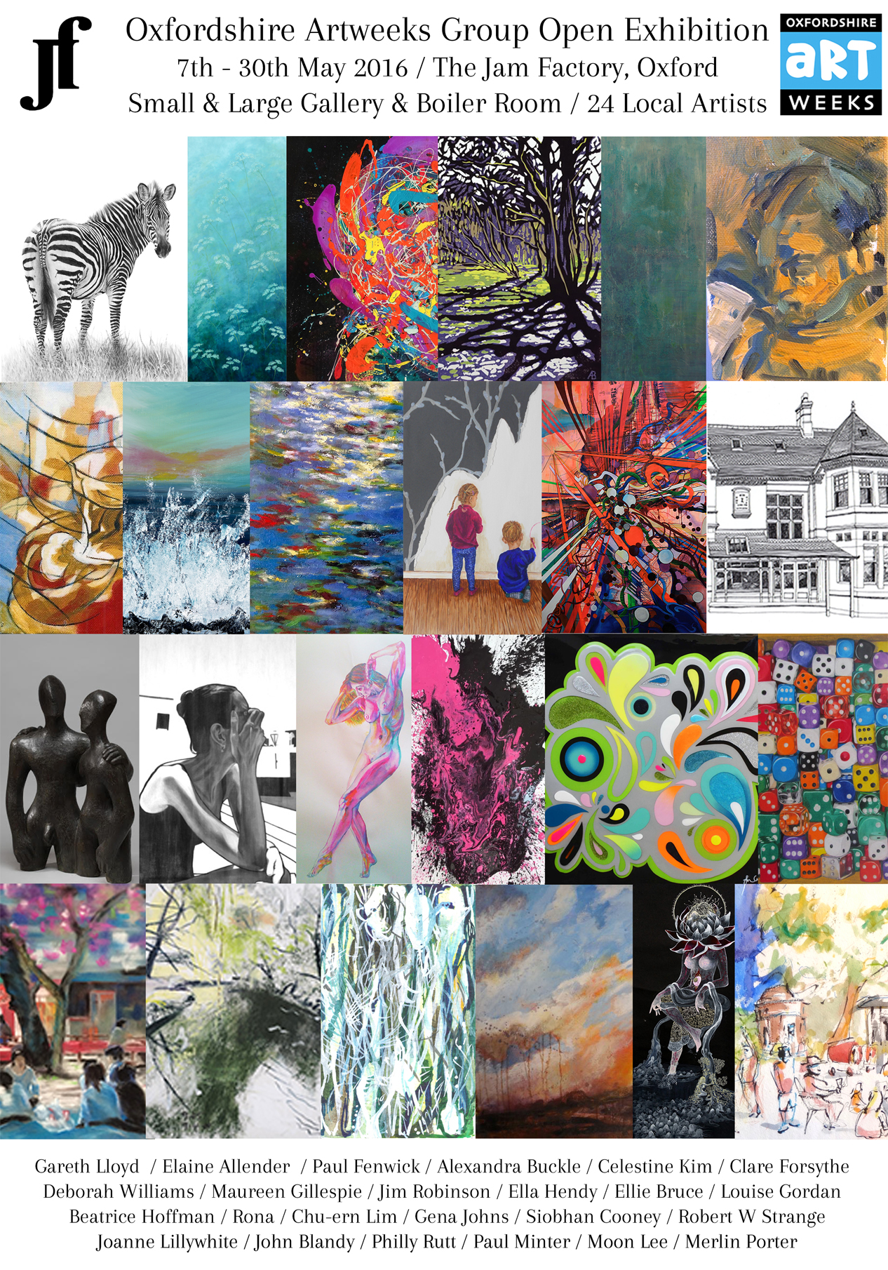 Oxfordshire Artweeks Group Open Exhibition 2016