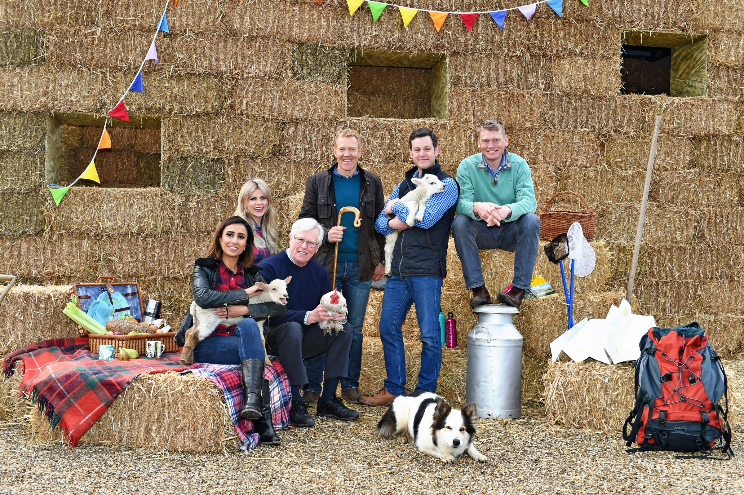 Countryfile Live begins today at Blenheim Palace