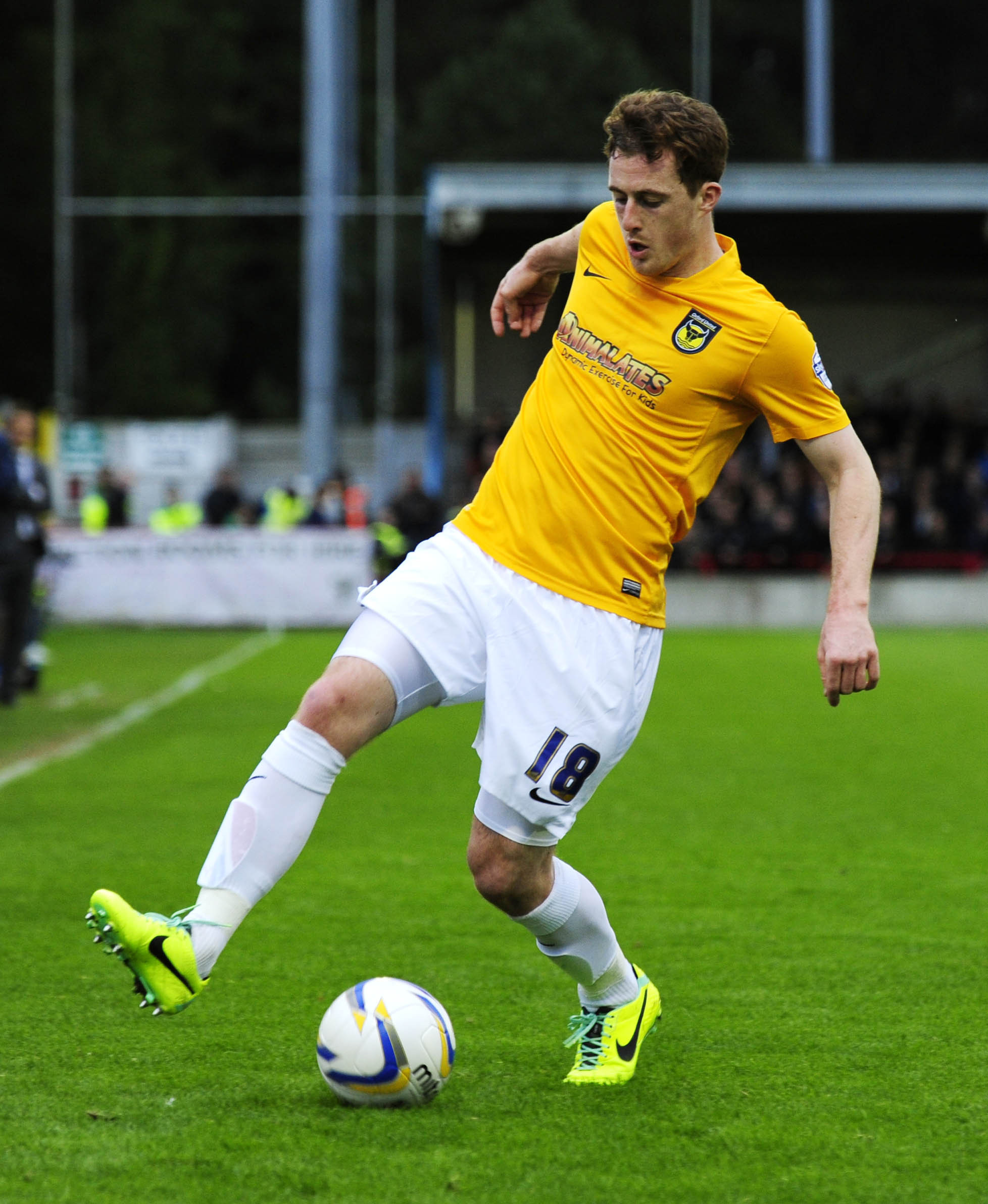Scott Davies, in action for Oxford United in 2013, will complete the formalities on a move to Oxford City next week and believes he has got his buzz for football back after beating a gambling addiction