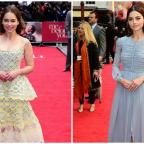Oxford Mail: Emilia Clarke and Jenna Coleman turn on the glamour for the London premiere of Me Before You