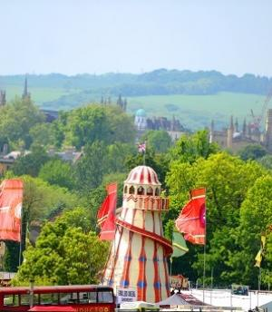 Oxford Mail: The stage is set for a weekend of live music at the Common People festival in South Park, Oxford