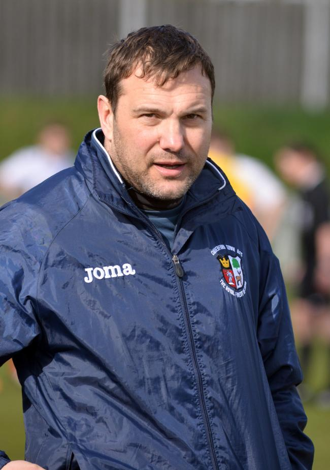 Former Cinderford Town boss John Brough has been appointed the new manager of North Leigh. Picture: Andrew Higgins, Gloucestershire Echo