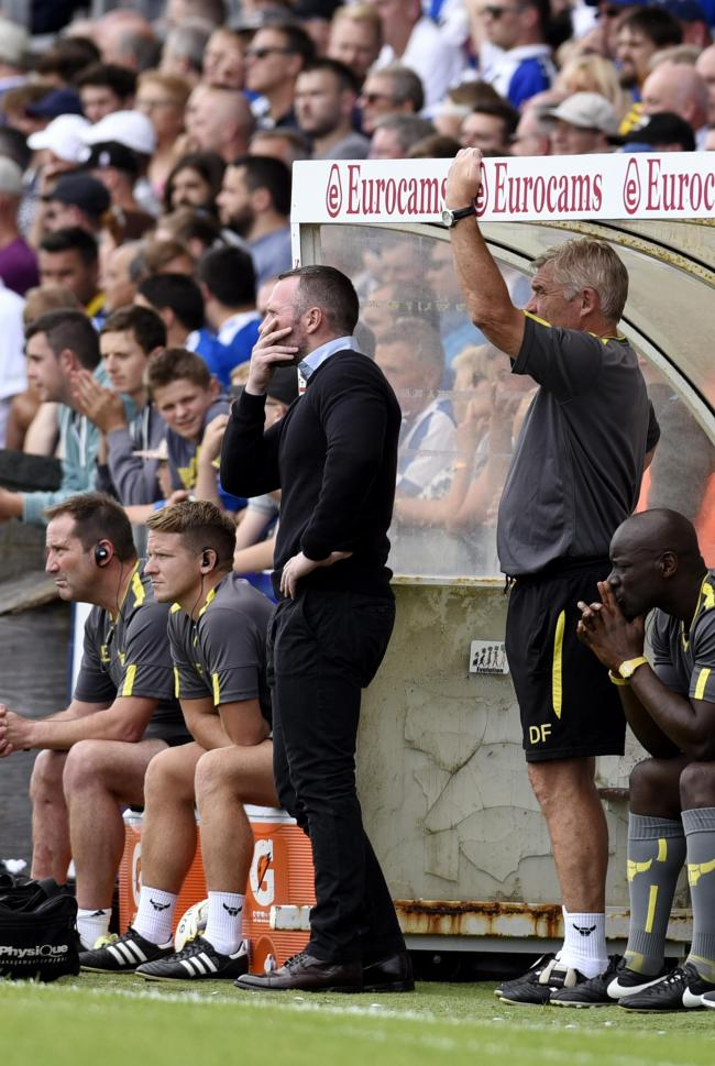It's not pleasant watching for Oxford United boss Michael Appleton at Bristol Rovers