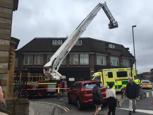 Firemen searching roof of old Warehouse nightclub after 'two loud bangs'