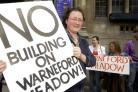 Protesters campaign to save Warneford Meadow
