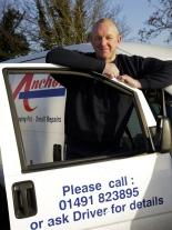 Richard Baker is one of the Anchor Staying Put team helping elderly and disabled people in Oxfordshire with small repair jobs