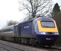 A First Great Western High Speed Train