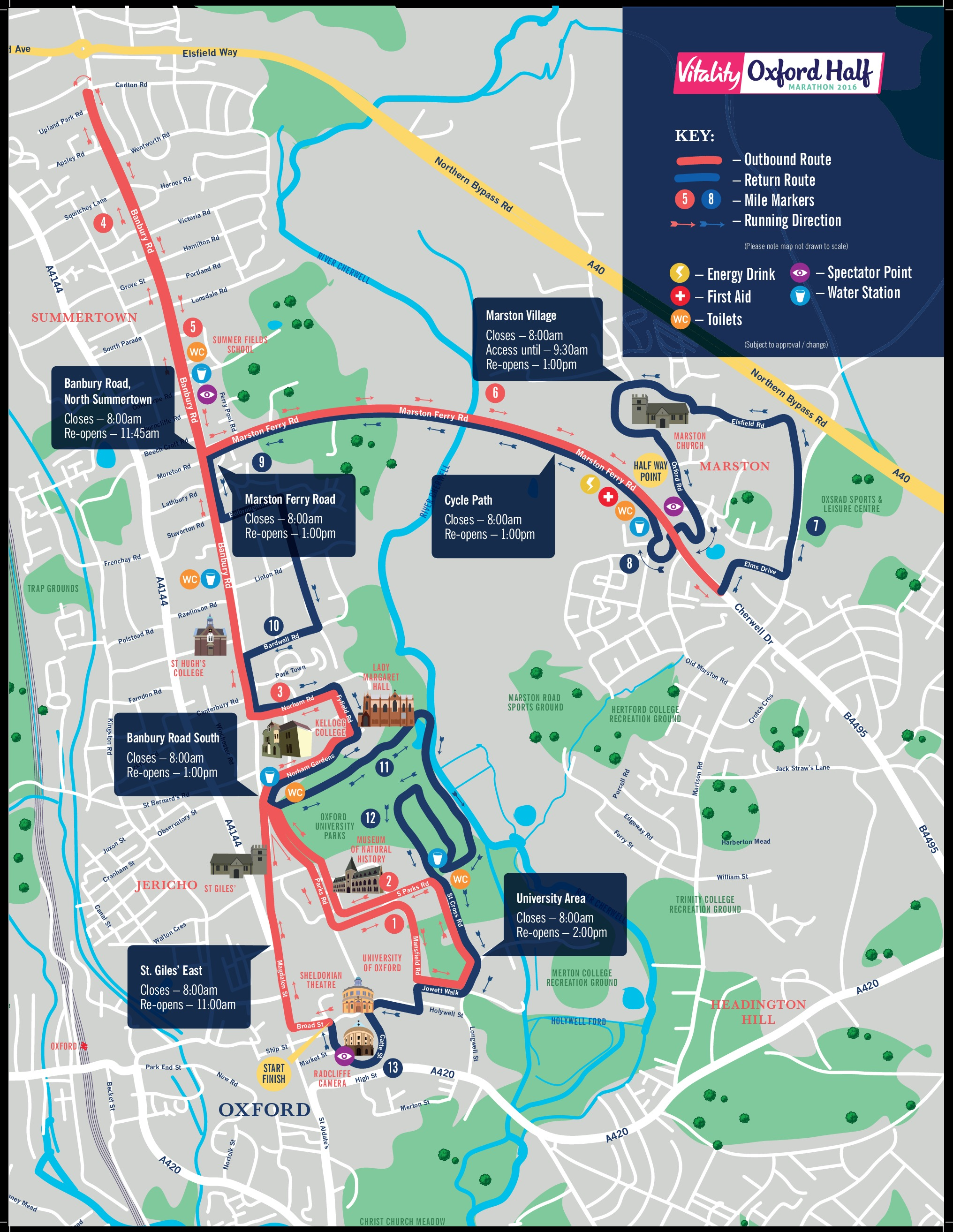 All you need to know about the Oxford Half Marathon this Sunday