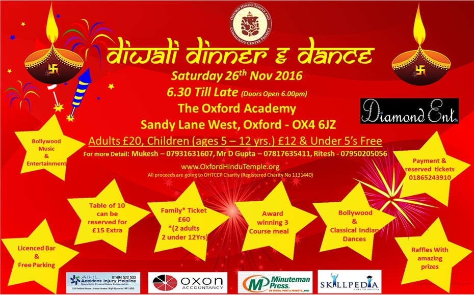 Diwali Dinner Dance
