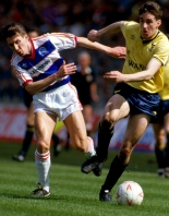 Oxford Mail: HEROES RETURN: John Aldridge, pictured at Wembley during United's Milk Cup triumph, is due to play for the U's again