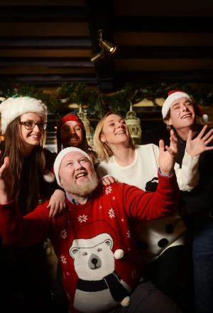Oxford Mail: Pub regulars and staff hoping their festive number will top the charts this Christmas