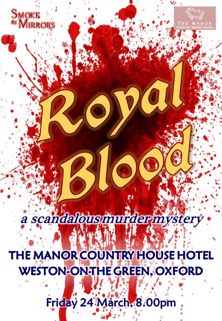 'Royal Blood' - murder mystery dinner
