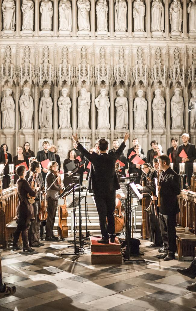 Glrious: Oxford Bach Soloists at New College Chapel